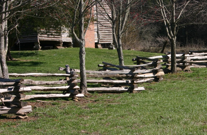 Cades Cove Fence